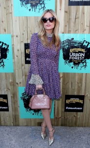 LONDON, ENGLAND - JUNE 10: Laura Whitmore enjoys the mystery of the Kopparberg Urban Forest, a free festival running for five weeks in Hackney Wick, on June 10, 2015 in London, England. (Photo by David M. Benett/Getty Images for Kopparberg Urban Forest) *** Local Caption *** Laura Whitmore