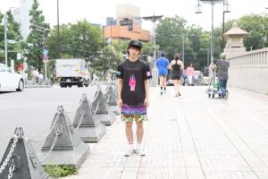 3. guy street shirt front