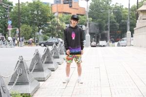 8. guy street hoodie front
