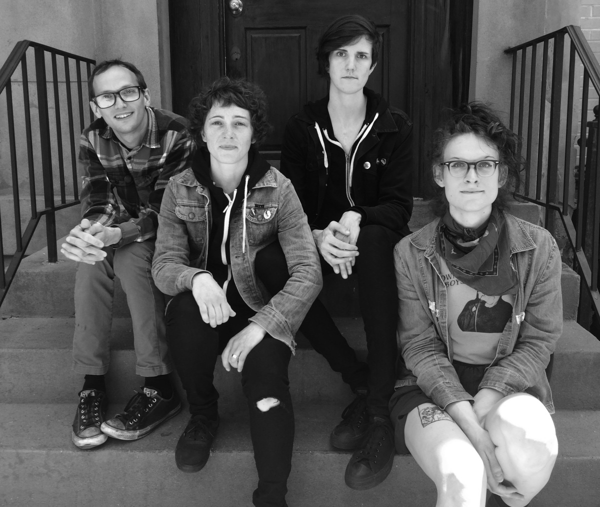 Worriers NPR Interview w/ Laura Jane Grace, New Video w/ Rookie + Debut LP Out Today