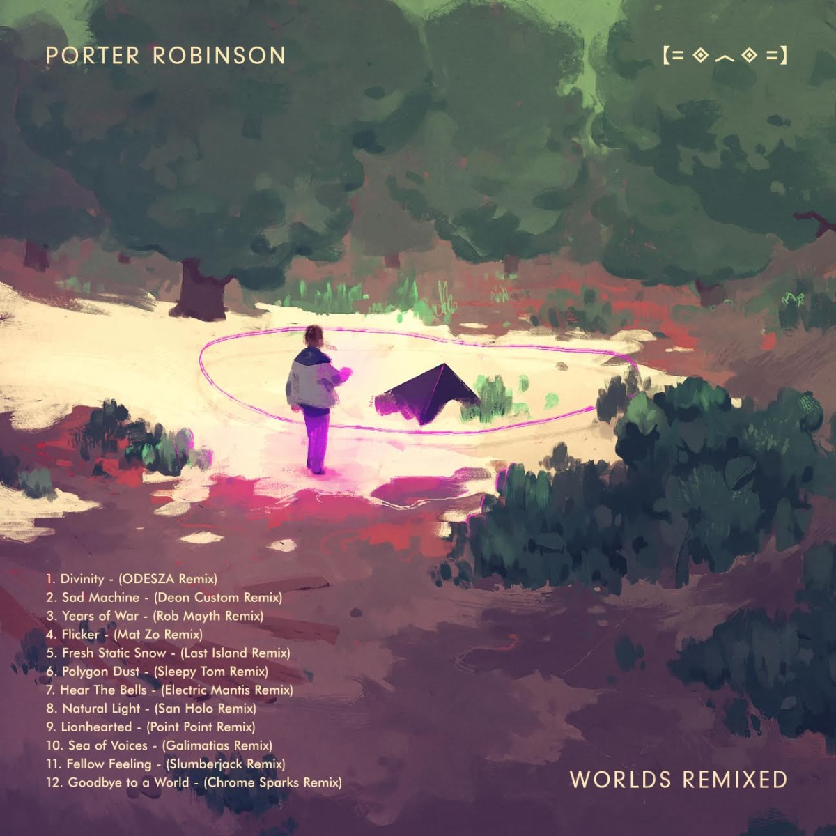 "Porter Robinson Announces ""Worlds Remixed"" Out Oct 2 via Astralwerks"