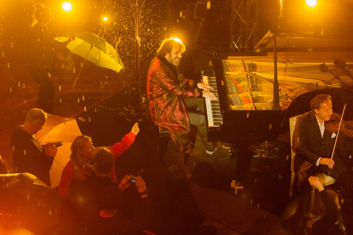 Pitchfork shares Octave Minds (Chilly Gonzales + Boys Noize) first ever live show video at Berlin's Teufelsberg