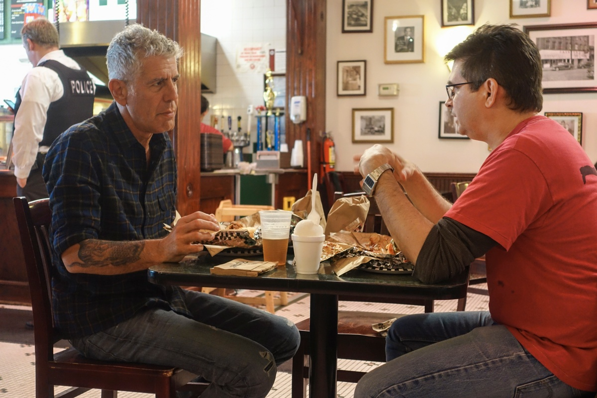 The Food Film Fest and CNN Original Series Present:The World Premiere of Anthony Bourdain: Parts Unknown / Chicago