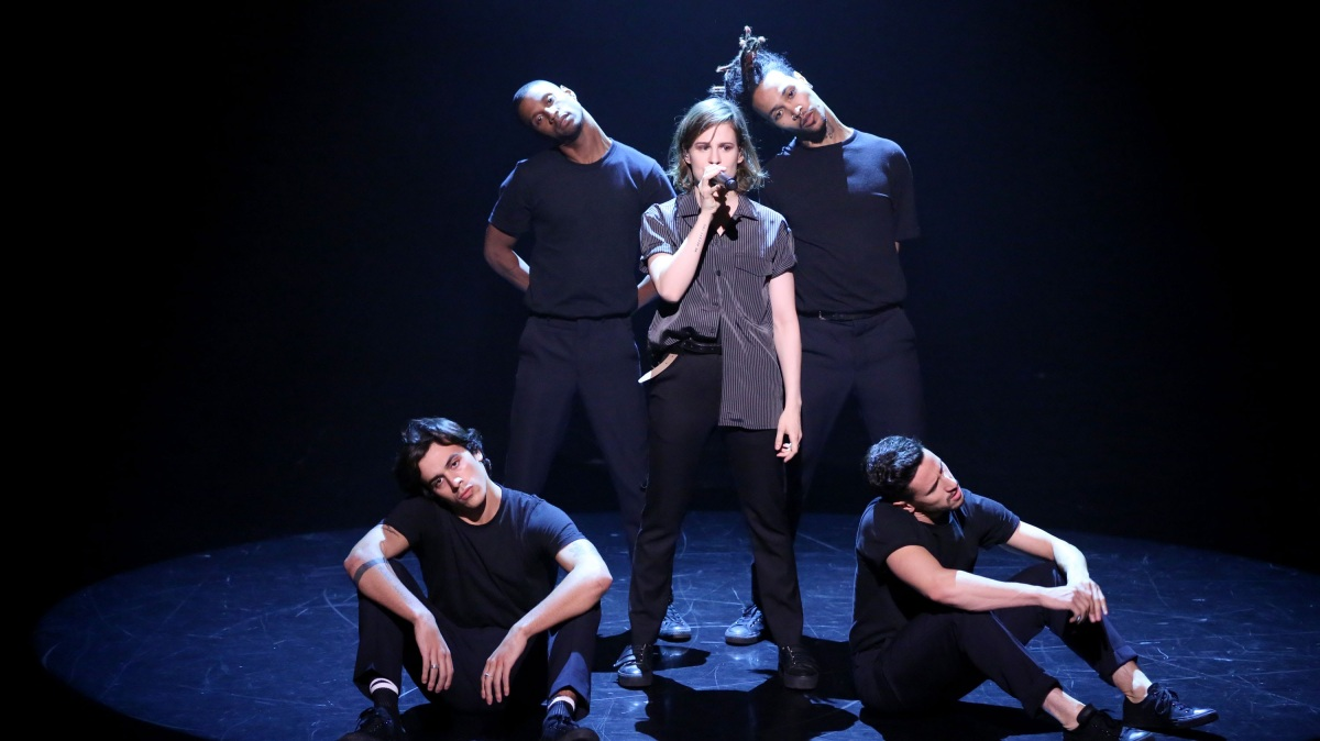 Christine And The Queens — Performed Tonight Show With Jimmy Fallon + LA, SF'S Treasure Island, Seattle Dates Remain Of Debut Headline Tour