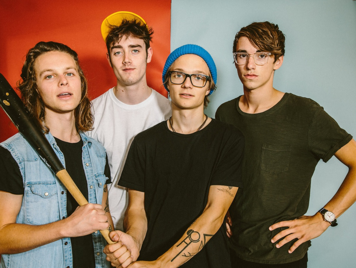 Hippo Campus Drop Video w/ VICE's Noisey, Internat'l Tour Incl. Bonnaroo, Bottlerock, Debut LP Out 2/24